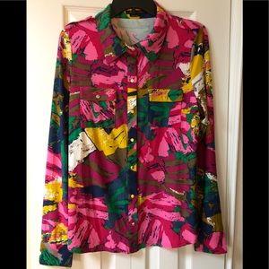 BCBGMaxAzria shirt NWT XL in woman's top blouse